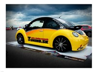 VW New Beetle Tuning 2 Fine Art Print