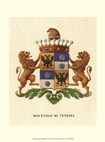 Stately Heraldry IV Fine Art Print