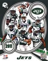 New York Jets 2011 Team Composite Fine Art Print