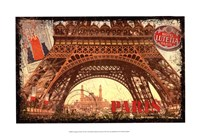 European Travels I Framed Print