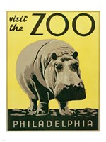 Visit the Zoo - Philadelphia Fine Art Print