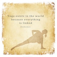Yoga Exists Fine Art Print