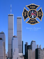 9/11 Never Forget Fine Art Print
