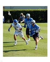 UNC Duke Lacrosse Fine Art Print