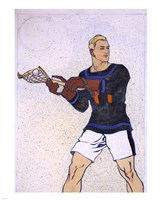 Collier Lacrosse Fine Art Print
