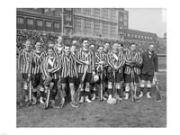 1909 Lacrosse Team Fine Art Print