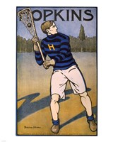 Hopkins Lacrosse Fine Art Print