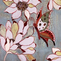 Vintage Butterfly I Framed Print