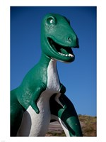 T-Rex Sculpture Fine Art Print