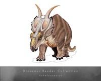 Achelousaurus Framed Print