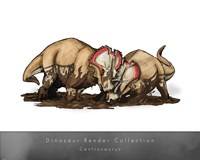 Centrosaurus Framed Print