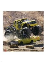 Big Dawg Monster Truck Fine Art Print