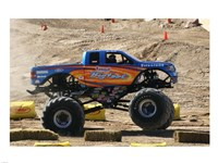 Big Foot Monster Truck Fine Art Print