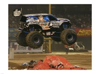 Bounty Hunter Monster Truck Fine Art Print