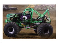 Grave Digger Monster Truck Fine Art Print