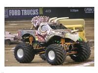 Jurassic Attack Monster Truck Fine Art Print