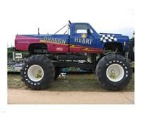 Dragon Heart Monster Truck Fine Art Print
