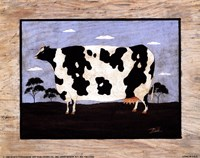 The Cow II Framed Print