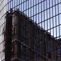 Square Reflections II Fine Art Print