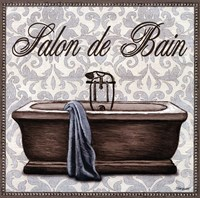 Salon de Bain Square Fine Art Print