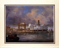 Hyde Street Pier Fine Art Print