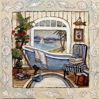 SEA BREEZE BATH II Fine Art Print