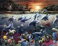 Water Scene Fine Art Print