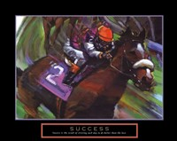 Success - Horse Framed Print