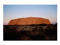 Ayers Rock Uluru-Kata Tjuta National Park Australia Framed Print