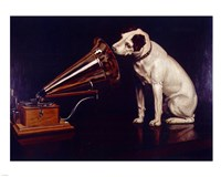 His Masters Voice Fine Art Print