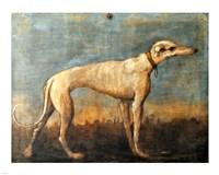 Greyhound, Giandomenico Tiepolo Fine Art Print