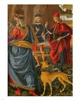 Saint Bernardino saves a dead man Pintoricchio Fine Art Print