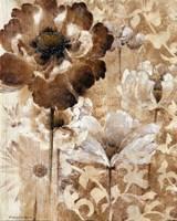 Sepia Daybreak I Framed Print