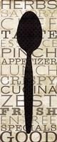 Kitchen Words II Fine Art Print