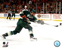 Dany Heatley 2011-12 Action Fine Art Print