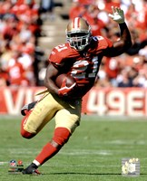 Frank Gore 2011 Action Fine Art Print