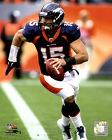 Tim Tebow 2011 Fotball Action Fine Art Print