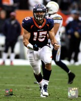 Tim Tebow 2011 in Action Fine Art Print