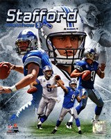 Matt Stafford 2011 Portrait Plus Fine Art Print