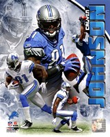 Calvin Johnson 2011 Portrait Plus Fine Art Print