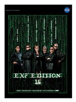 Expedition 16 The Matrix Crew Poster Fine Art Print