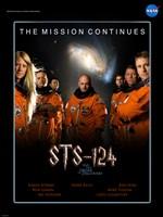 STS 124 Harry Potter Crew Poster Fine Art Print