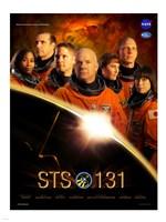 STS 131 Crew Poster Fine Art Print
