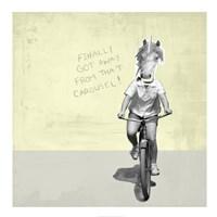 Carousel Unicorn Fine Art Print