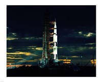 Apollo 17 the Last Moon Shot Fine Art Print