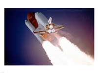 Atlantis Taking Off on STS-27 Fine Art Print
