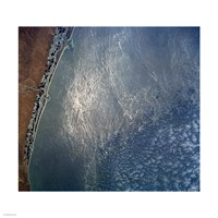 Ocean wave forms of the coast of Mexico Fine Art Print