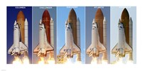 Shuttle Profiles Fine Art Print