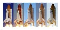Shuttle Profiles Fine Art Print