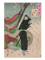 Lady Samurai Fine Art Print